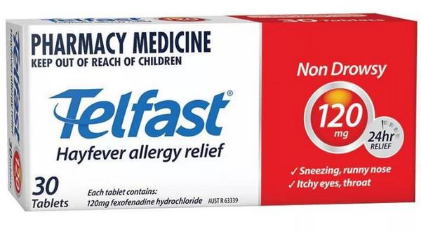 телфаст от аллергии инстркуция к применению