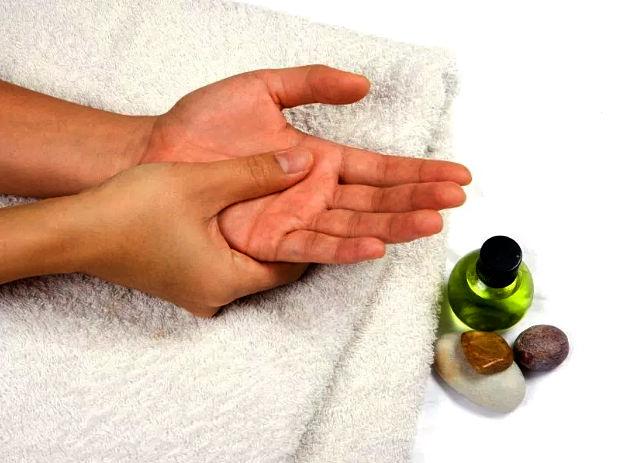массаж рук как делать