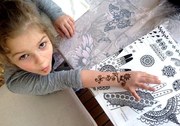 временные татуировки могут вызывать дерматит