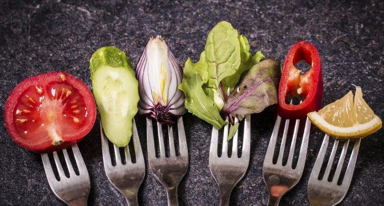 меню вегетарианцев