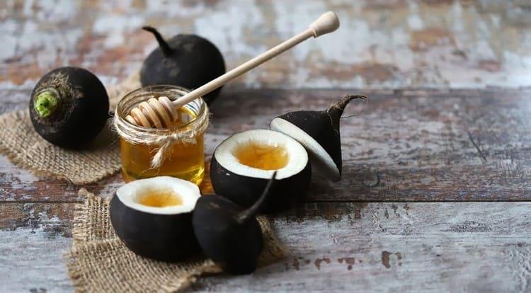 редька черная с медом от кашля